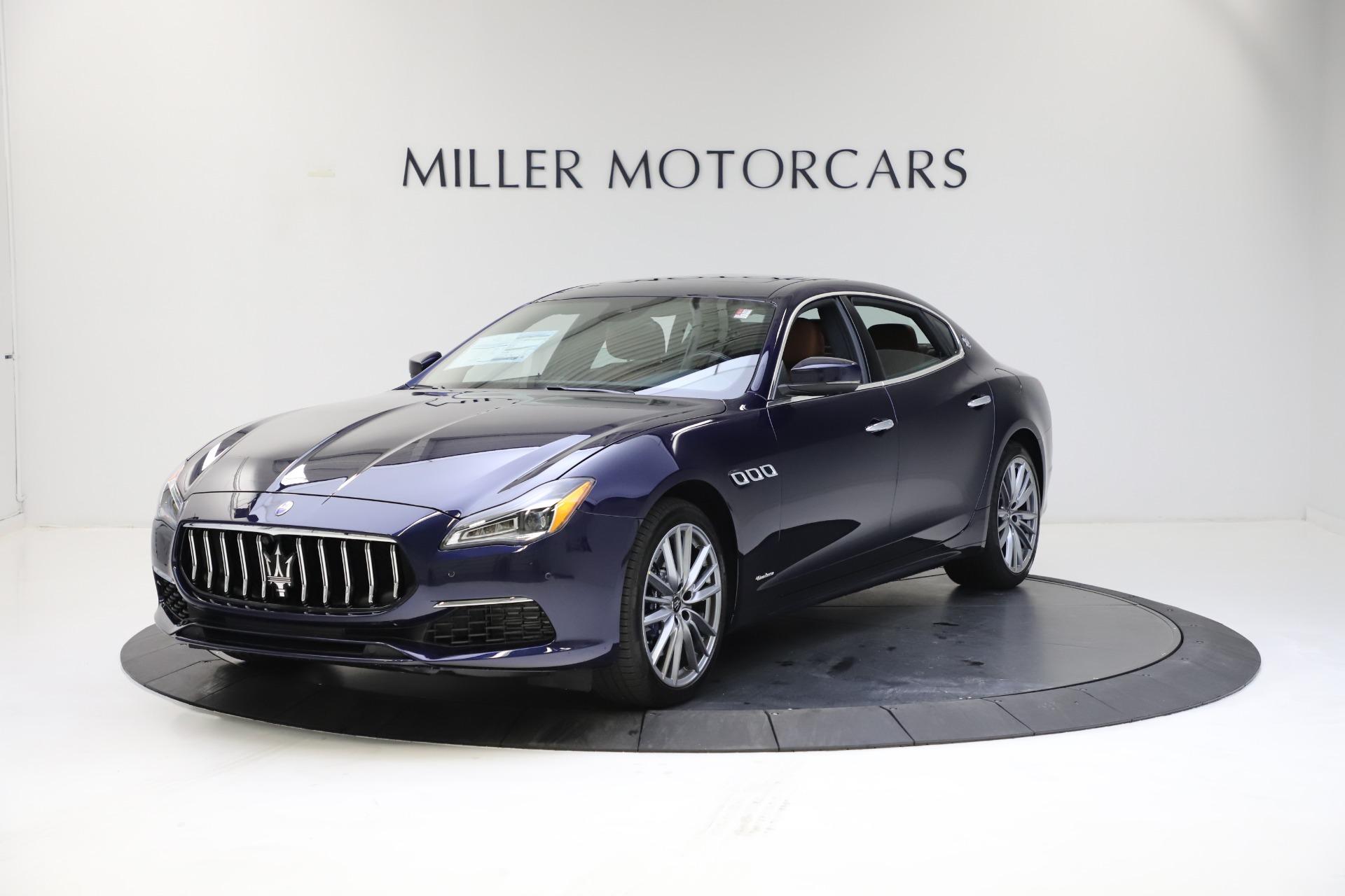 New 2021 Maserati Quattroporte S Q4 GranLusso for sale $123,549 at Maserati of Westport in Westport CT 06880 1