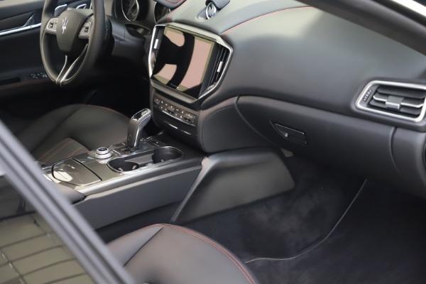 New 2021 Maserati Ghibli S Q4 for sale $86,654 at Maserati of Westport in Westport CT 06880 20