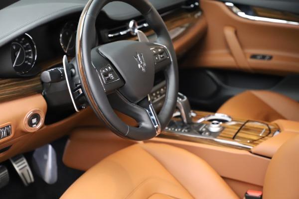 New 2021 Maserati Quattroporte S Q4 for sale $114,149 at Maserati of Westport in Westport CT 06880 13