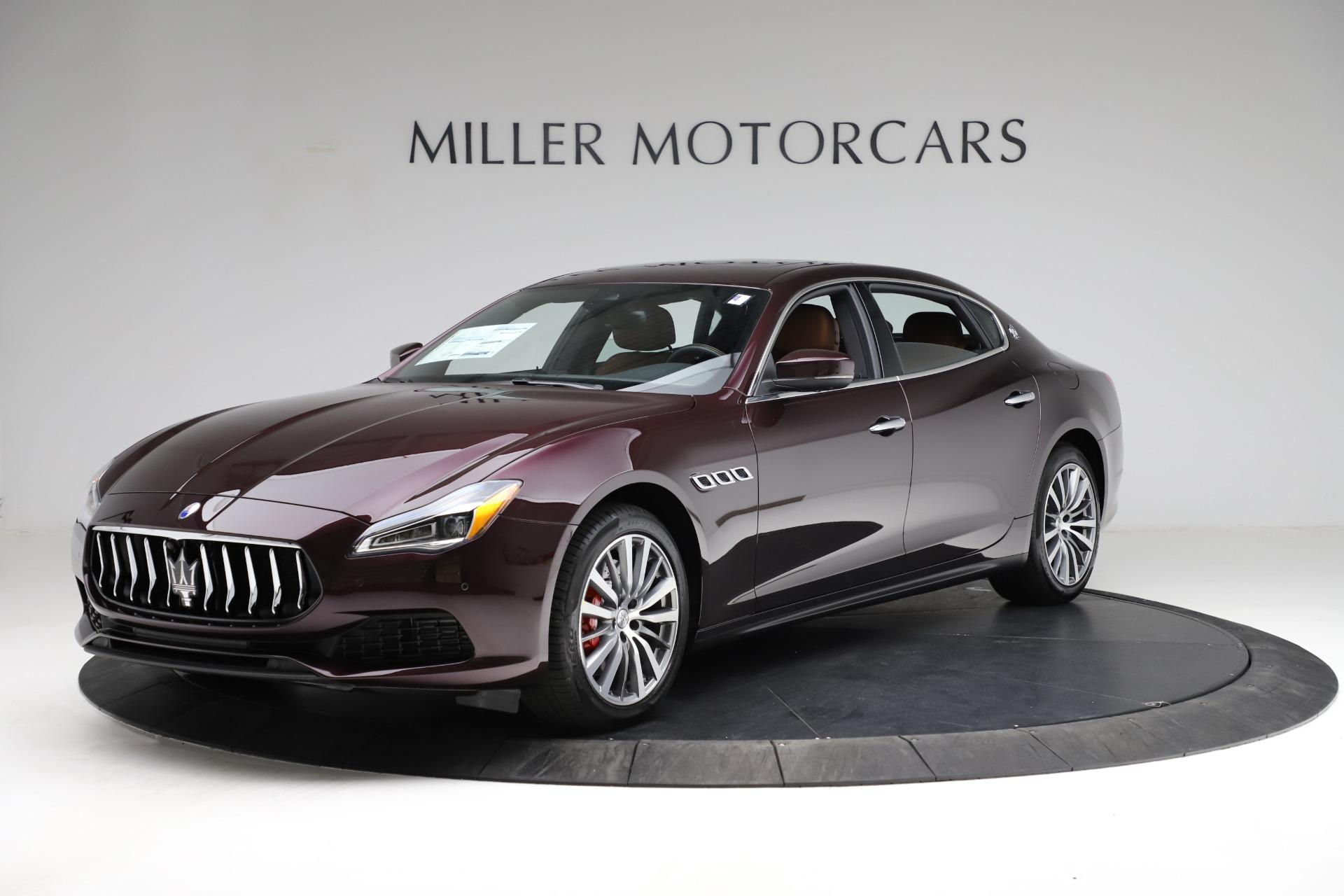 New 2021 Maserati Quattroporte S Q4 for sale $114,149 at Maserati of Westport in Westport CT 06880 1