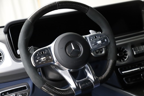 Used 2021 Mercedes-Benz G-Class AMG G 63 for sale $219,900 at Maserati of Westport in Westport CT 06880 18