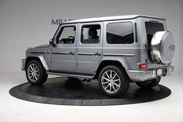 Used 2021 Mercedes-Benz G-Class AMG G 63 for sale $219,900 at Maserati of Westport in Westport CT 06880 4