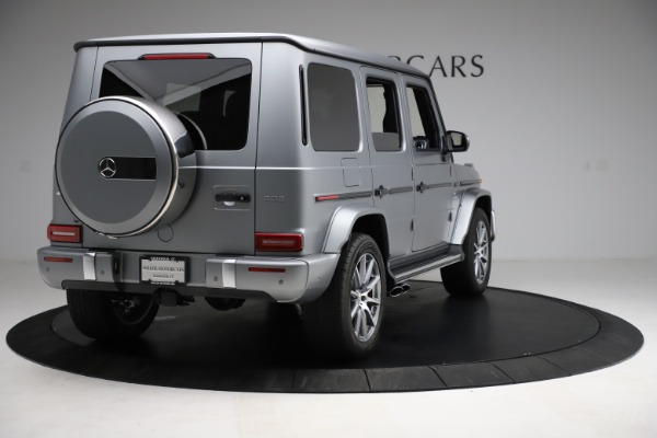 Used 2021 Mercedes-Benz G-Class AMG G 63 for sale $219,900 at Maserati of Westport in Westport CT 06880 7