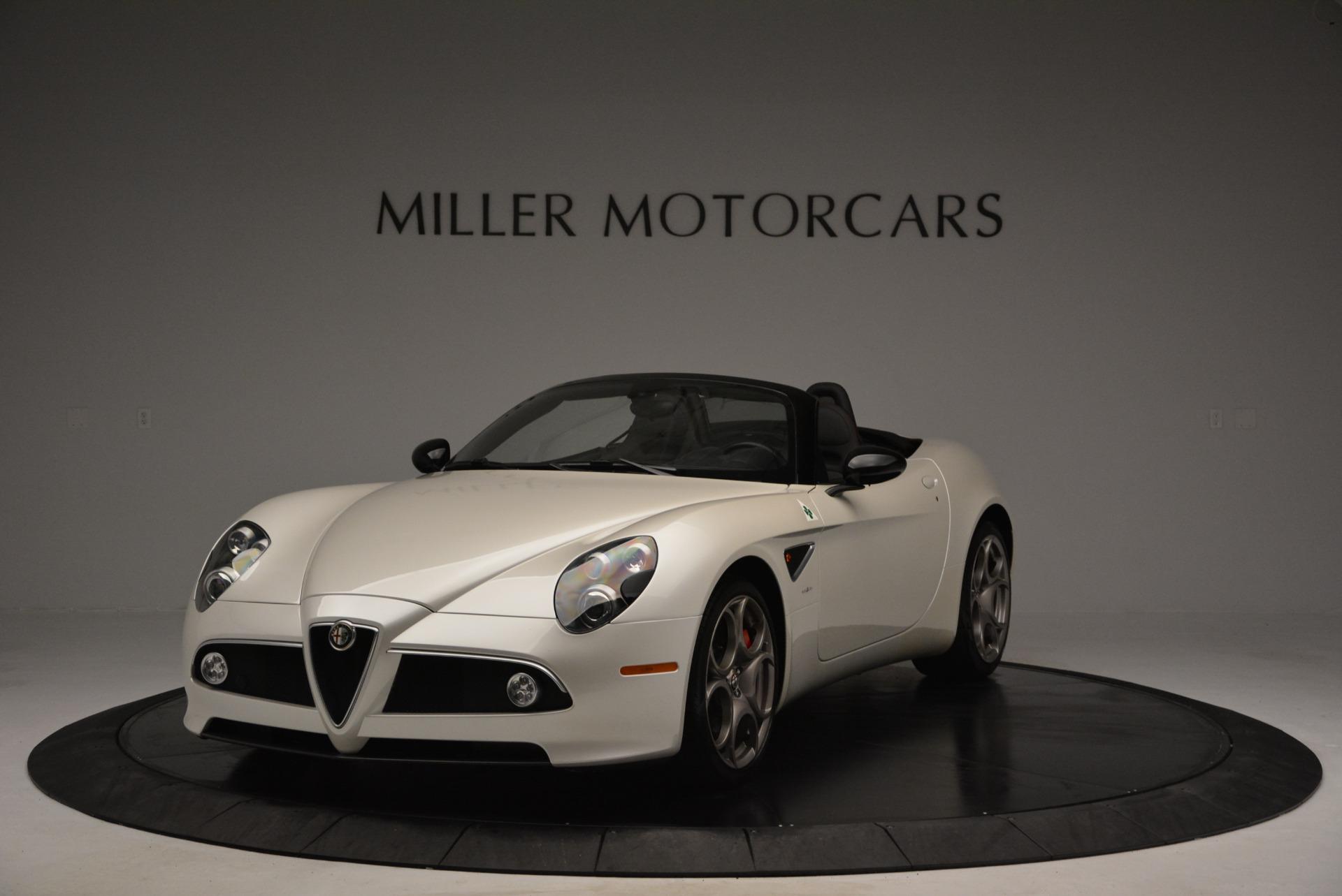 Used 2009 Alfa Romeo 8C Competizione Spider for sale $345,900 at Maserati of Westport in Westport CT 06880 1