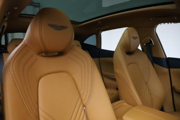 New 2021 Aston Martin DBX for sale $205,386 at Maserati of Westport in Westport CT 06880 21