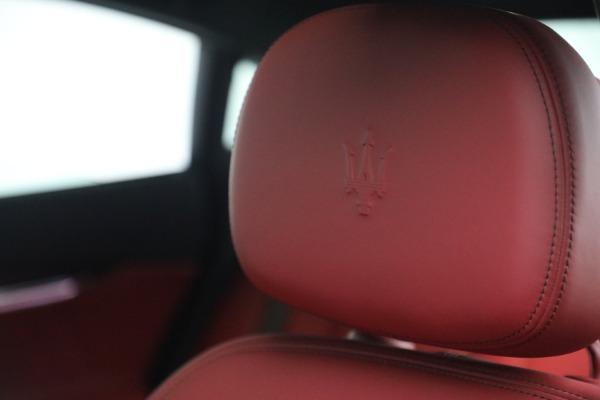 New 2021 Maserati Quattroporte S Q4 for sale $119,589 at Maserati of Westport in Westport CT 06880 21