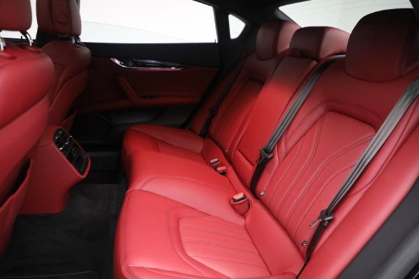 New 2021 Maserati Quattroporte S Q4 for sale $119,589 at Maserati of Westport in Westport CT 06880 28