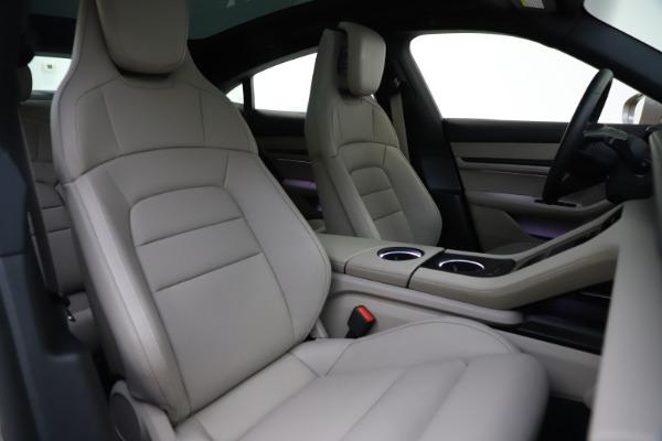Used 2021 Porsche Taycan 4S for sale $125,900 at Maserati of Westport in Westport CT 06880 21