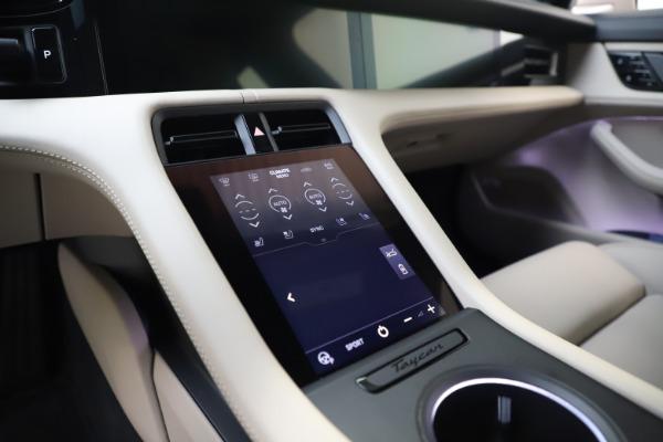 Used 2021 Porsche Taycan 4S for sale $125,900 at Maserati of Westport in Westport CT 06880 24