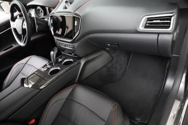New 2021 Maserati Ghibli S Q4 GranSport for sale $100,635 at Maserati of Westport in Westport CT 06880 22