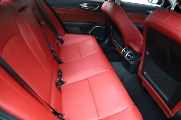 New 2021 Alfa Romeo Giulia Q4 for sale $48,535 at Maserati of Westport in Westport CT 06880 26