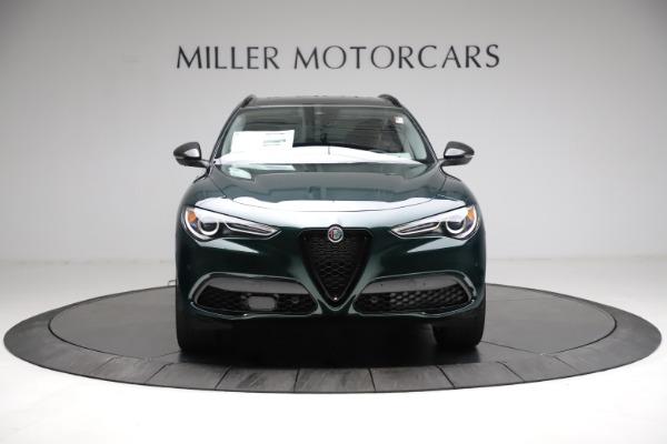 New 2021 Alfa Romeo Stelvio Ti Q4 for sale $53,650 at Maserati of Westport in Westport CT 06880 12