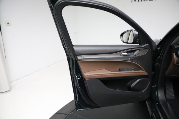 New 2021 Alfa Romeo Stelvio Ti Q4 for sale $53,650 at Maserati of Westport in Westport CT 06880 17