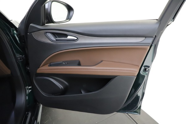 New 2021 Alfa Romeo Stelvio Ti Q4 for sale $53,650 at Maserati of Westport in Westport CT 06880 22