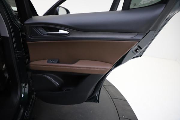 New 2021 Alfa Romeo Stelvio Ti Q4 for sale $53,650 at Maserati of Westport in Westport CT 06880 24
