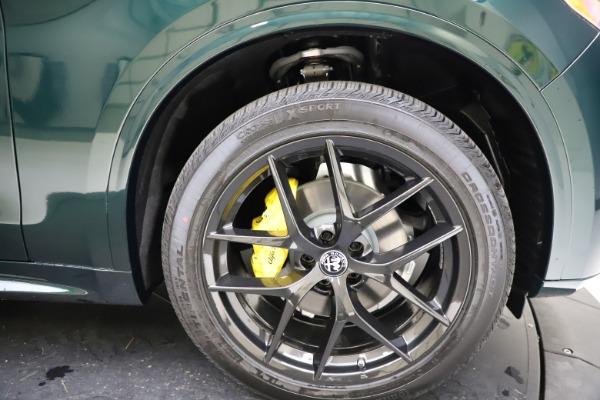 New 2021 Alfa Romeo Stelvio Ti Q4 for sale $53,650 at Maserati of Westport in Westport CT 06880 25