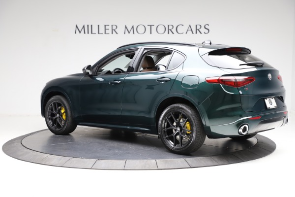 New 2021 Alfa Romeo Stelvio Ti Q4 for sale $53,650 at Maserati of Westport in Westport CT 06880 4