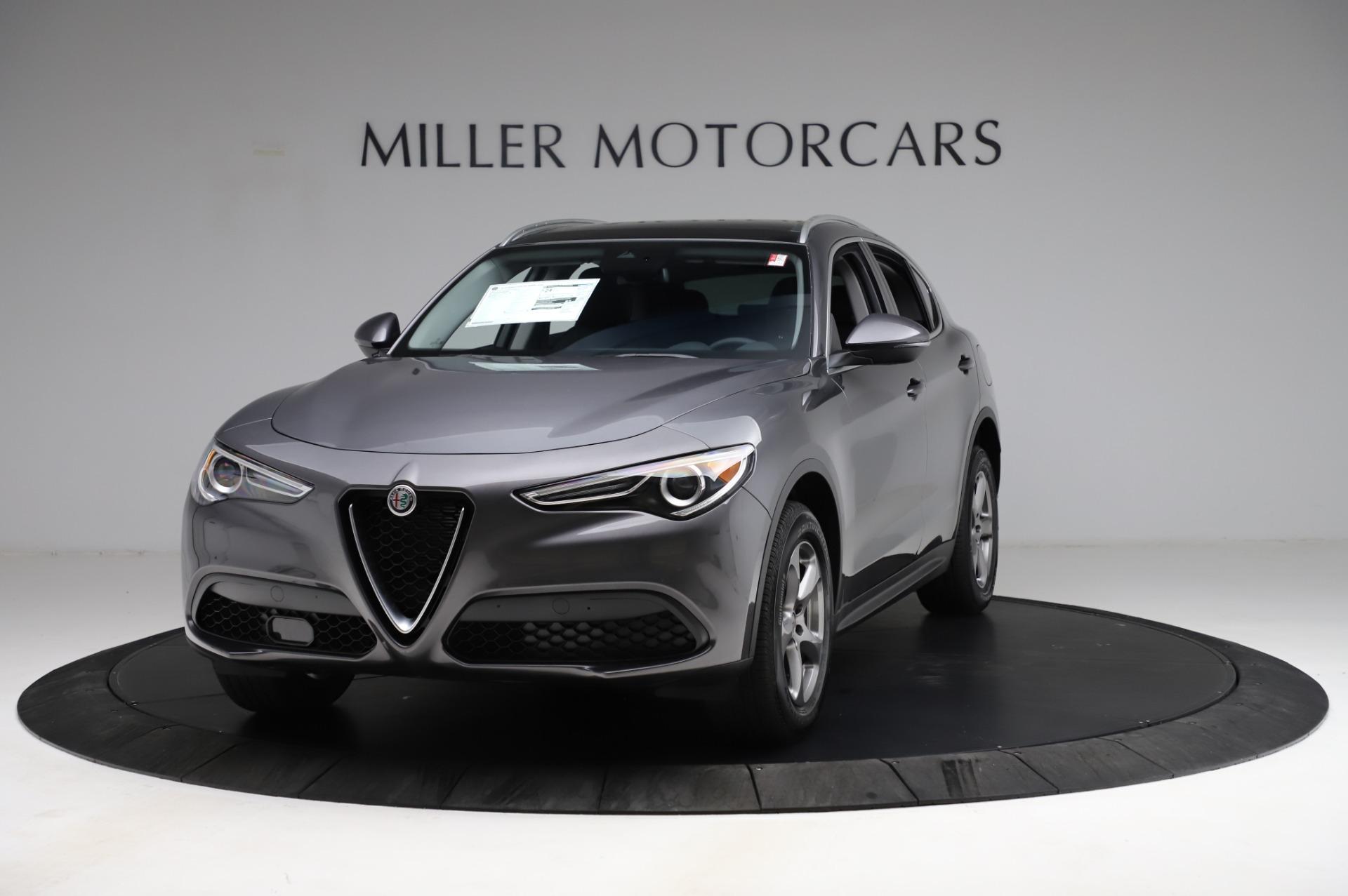 New 2021 Alfa Romeo Stelvio Q4 for sale $48,900 at Maserati of Westport in Westport CT 06880 1