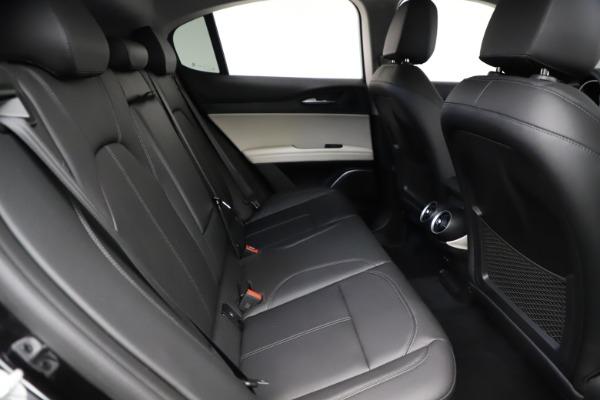 New 2021 Alfa Romeo Stelvio Q4 for sale $50,245 at Maserati of Westport in Westport CT 06880 26