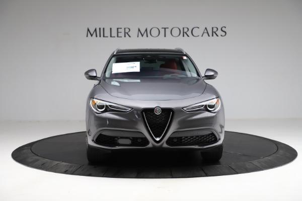 New 2021 Alfa Romeo Stelvio Ti Q4 for sale $55,500 at Maserati of Westport in Westport CT 06880 13