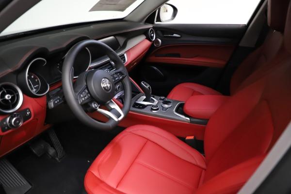 New 2021 Alfa Romeo Stelvio Ti Q4 for sale $55,500 at Maserati of Westport in Westport CT 06880 14