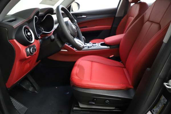 New 2021 Alfa Romeo Stelvio Ti Q4 for sale $55,500 at Maserati of Westport in Westport CT 06880 16