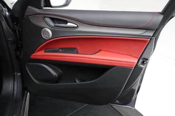 New 2021 Alfa Romeo Stelvio Ti Q4 for sale $55,500 at Maserati of Westport in Westport CT 06880 23