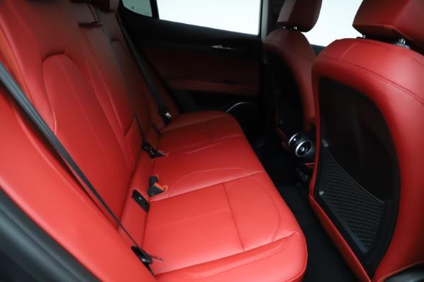New 2021 Alfa Romeo Stelvio Ti Q4 for sale $55,500 at Maserati of Westport in Westport CT 06880 25