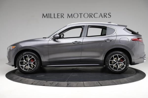 New 2021 Alfa Romeo Stelvio Ti Q4 for sale $55,500 at Maserati of Westport in Westport CT 06880 3