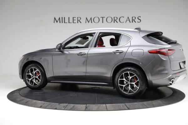 New 2021 Alfa Romeo Stelvio Ti Q4 for sale $55,500 at Maserati of Westport in Westport CT 06880 4