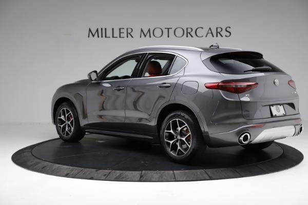 New 2021 Alfa Romeo Stelvio Ti Q4 for sale $55,500 at Maserati of Westport in Westport CT 06880 5
