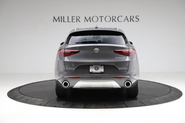 New 2021 Alfa Romeo Stelvio Ti Q4 for sale $55,500 at Maserati of Westport in Westport CT 06880 7