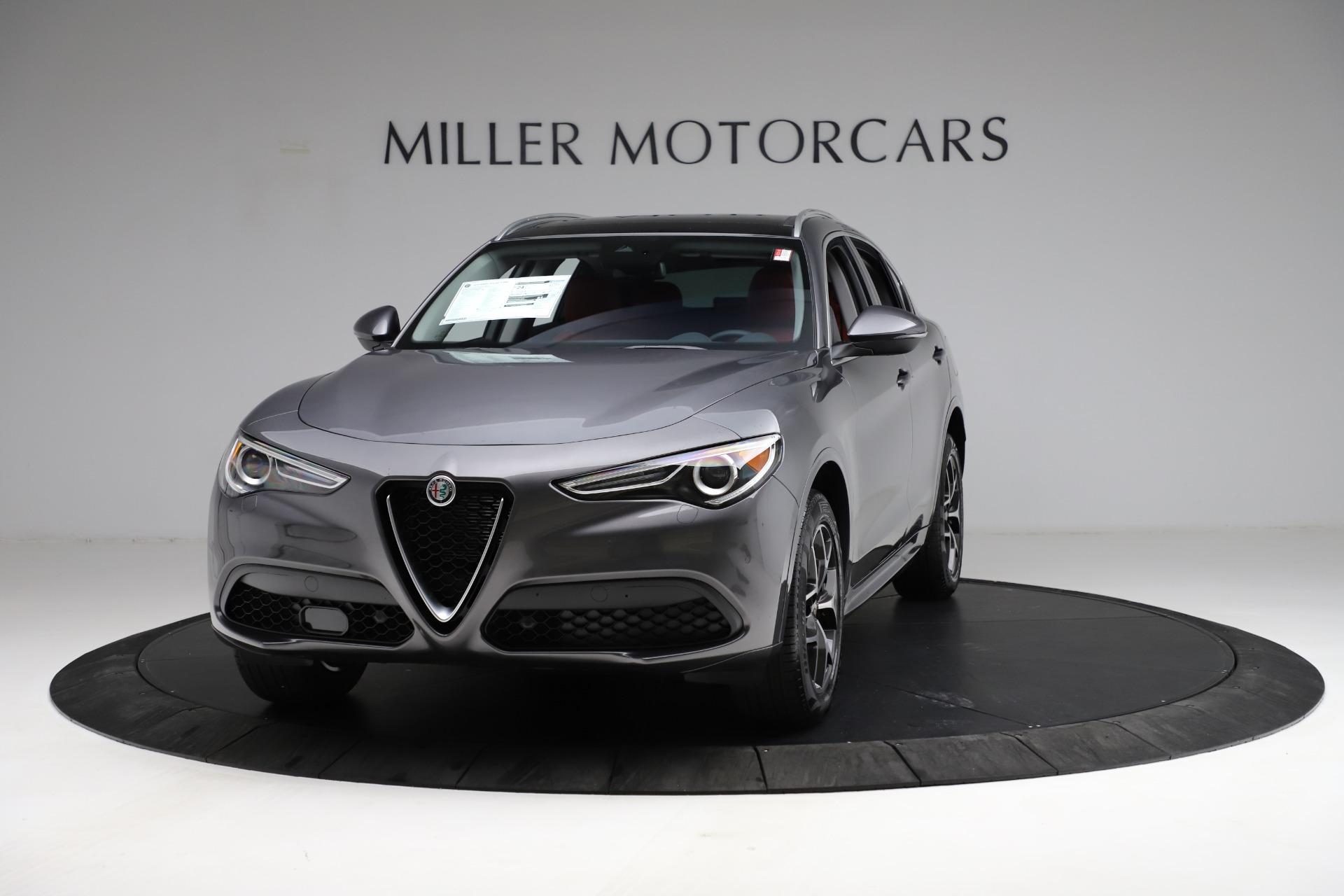 New 2021 Alfa Romeo Stelvio Ti Q4 for sale $55,500 at Maserati of Westport in Westport CT 06880 1