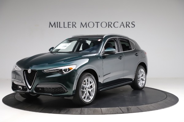 New 2021 Alfa Romeo Stelvio Ti Q4 for sale $53,500 at Maserati of Westport in Westport CT 06880 2