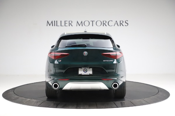 New 2021 Alfa Romeo Stelvio Ti Q4 for sale Sold at Maserati of Westport in Westport CT 06880 7
