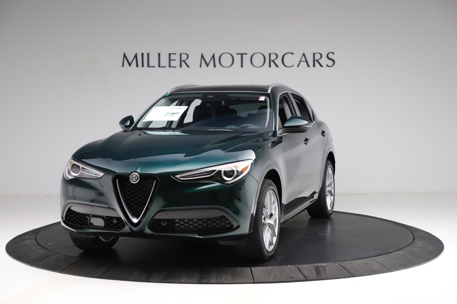 New 2021 Alfa Romeo Stelvio Ti Q4 for sale $53,500 at Maserati of Westport in Westport CT 06880 1