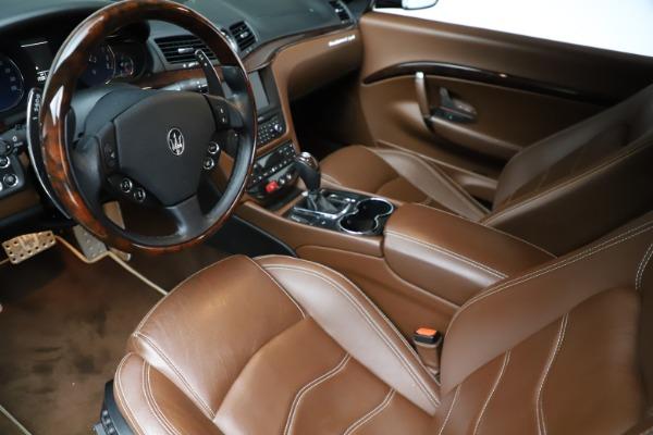 Used 2013 Maserati GranTurismo Sport for sale Call for price at Maserati of Westport in Westport CT 06880 14