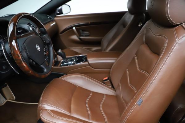 Used 2013 Maserati GranTurismo Sport for sale Call for price at Maserati of Westport in Westport CT 06880 15