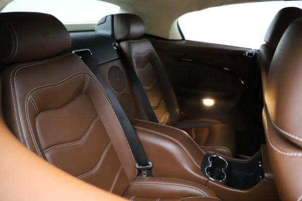 Used 2013 Maserati GranTurismo Sport for sale Call for price at Maserati of Westport in Westport CT 06880 17