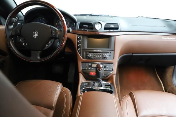Used 2013 Maserati GranTurismo Sport for sale Call for price at Maserati of Westport in Westport CT 06880 21