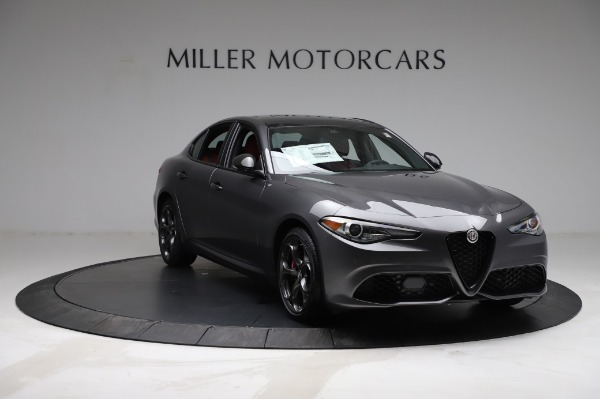 New 2021 Alfa Romeo Giulia Ti Sport for sale $54,050 at Maserati of Westport in Westport CT 06880 10