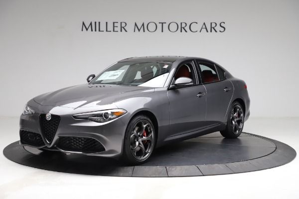 New 2021 Alfa Romeo Giulia Ti Sport for sale $54,050 at Maserati of Westport in Westport CT 06880 2