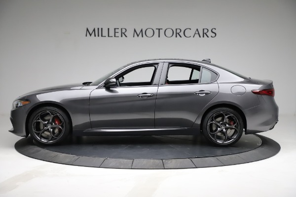 New 2021 Alfa Romeo Giulia Ti Sport for sale $54,050 at Maserati of Westport in Westport CT 06880 3