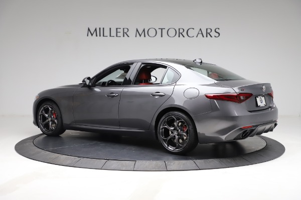 New 2021 Alfa Romeo Giulia Ti Sport for sale $54,050 at Maserati of Westport in Westport CT 06880 4