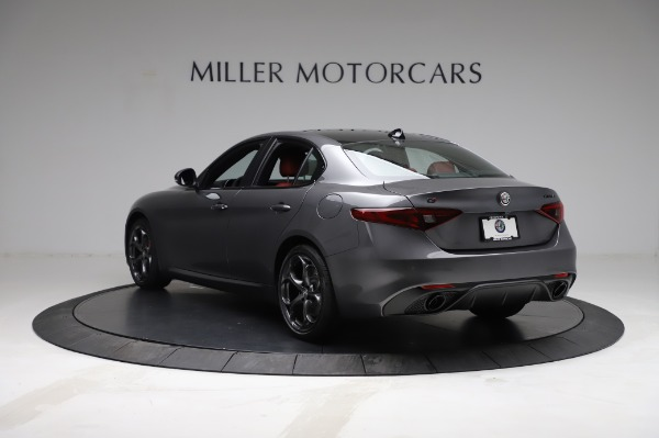 New 2021 Alfa Romeo Giulia Ti Sport for sale $54,050 at Maserati of Westport in Westport CT 06880 5