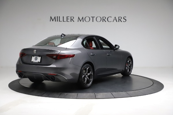 New 2021 Alfa Romeo Giulia Ti Sport for sale $54,050 at Maserati of Westport in Westport CT 06880 7