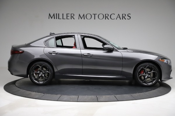 New 2021 Alfa Romeo Giulia Ti Sport for sale $54,050 at Maserati of Westport in Westport CT 06880 8