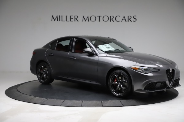 New 2021 Alfa Romeo Giulia Ti Sport for sale $54,050 at Maserati of Westport in Westport CT 06880 9