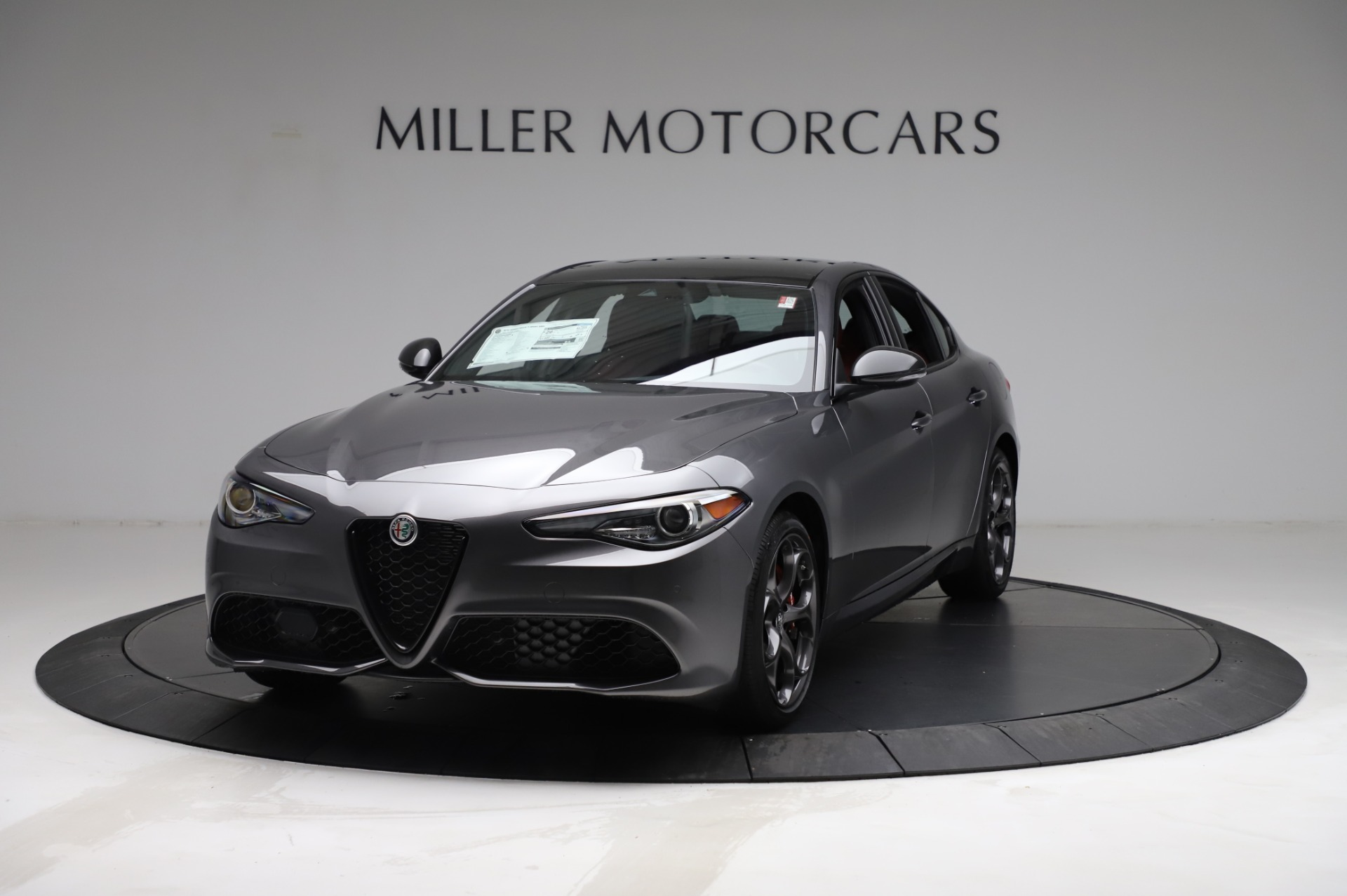 New 2021 Alfa Romeo Giulia Ti Sport for sale $54,050 at Maserati of Westport in Westport CT 06880 1