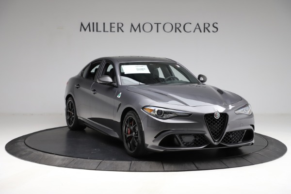 New 2021 Alfa Romeo Giulia Quadrifoglio for sale $83,200 at Maserati of Westport in Westport CT 06880 10